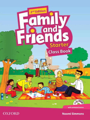 AMERICAN FAMILY AND FRIENDS 2ND starter SB+WB+CD+DVD