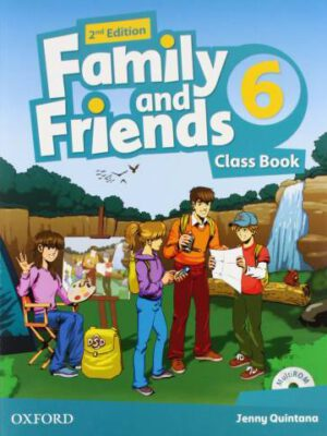 AMERICAN FAMILY AND FRIENDS 2ND 6 SB+WB+CD+DVD