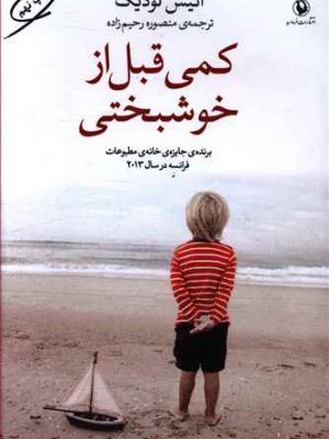 کتاب کمی قبل از خوشبختی اثرانیس لودیگ انتشارات مروارید