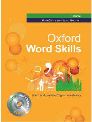 کتاب Oxford Word Skills Basic +CD