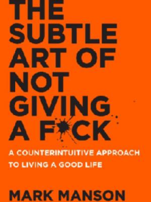 کتاب اورجینال هنر ظریف بی خیالی(The Subtle Art of Not Giving a F*ck)