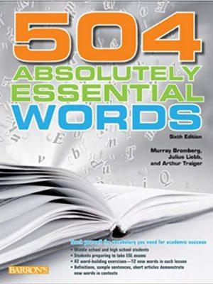 کتاب زبان 504 (Absolutely Essential Words (Sixth Edition