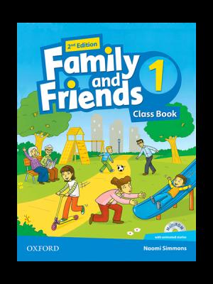 کتاب Family and Friends 2nd 1 SB+WB+DVD