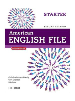 American English File 2nd Starter SB+WB+CD