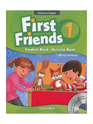 کتاب American First Friends 1 SB+WB+CD
