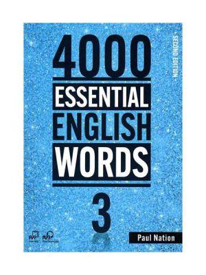 کتاب ۴۰۰۰Essential English Words 2nd 3+CD