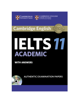 کتاب IELTS Cambridge 11 Academic+CD