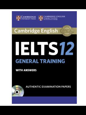 کتاب IELTS Cambridge 12 General+CD
