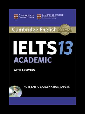 کتاب IELTS Cambridge 13 Academic+CD
