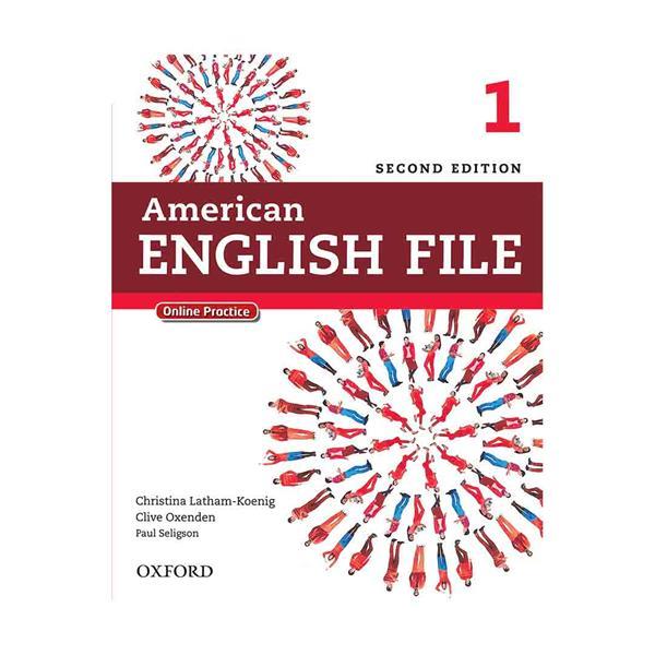 American English File 2nd 1 SB+WB+CD