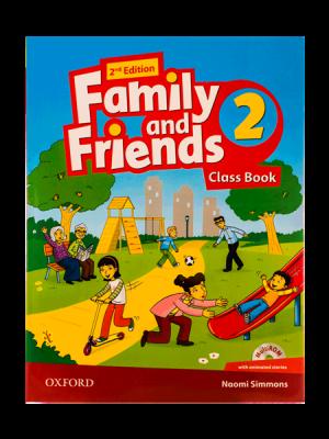 کتاب Family and Friends 2nd 2 SB+WB+DVD