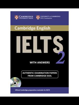 کتاب IELTS Cambridge 2+CD