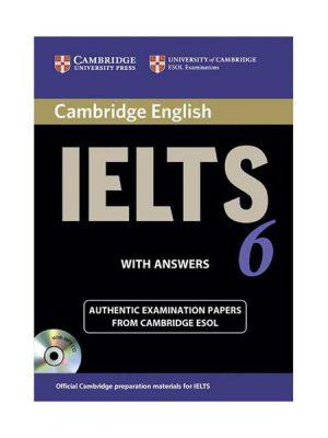 کتاب IELTS Cambridge 6+CD
