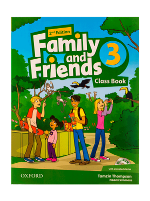 کتاب Family and Friends 2nd 3 SB+WB+DVD