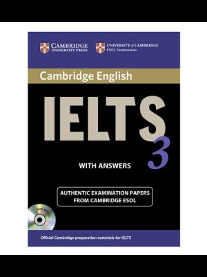 کتاب IELTS Cambridge 3+CD