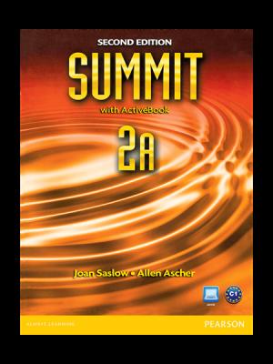 کتاب Summit 2rd 2A SB+WB+CD