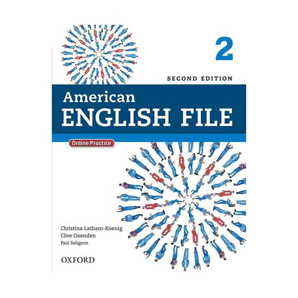American English File 2nd 2 SB+WB+CD