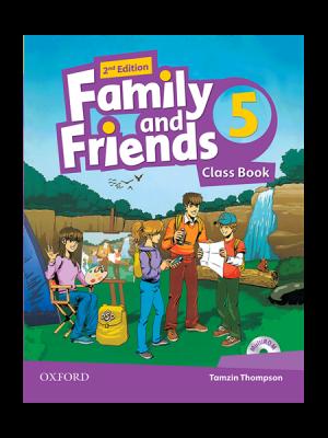 کتاب Family and Friends 2nd 5 SB+WB+DVD