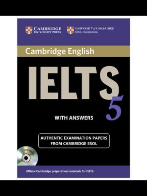 کتاب IELTS Cambridge 5+CD