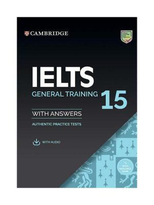 کتاب IELTS Cambridge 15 General +CD
