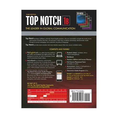 Top Notch 3rd 1B +DVD