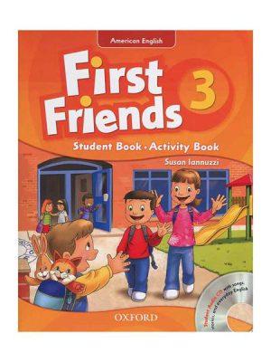 کتاب American First Friends 3 SB+WB+CD