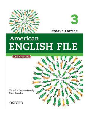 American English File 2nd 3 SB+WB+CD