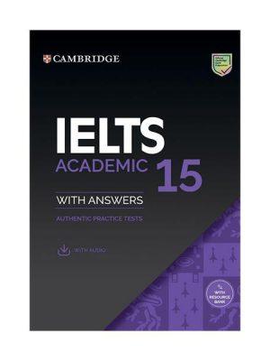 کتاب IELTS Cambridge 15 Academic+CD