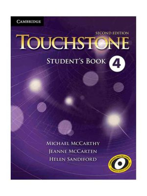 کتاب Touchstone 2nd 4 S.B+W.B+CD