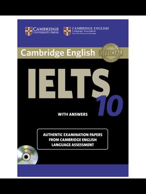 کتاب IELTS Cambridge 10+CD