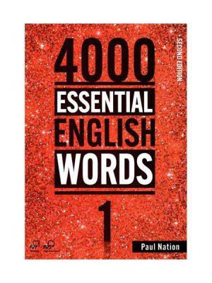 کتاب 4000Essential English Words 2nd 1+CD
