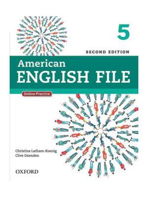 American English File 2nd 5 SB+WB+CD