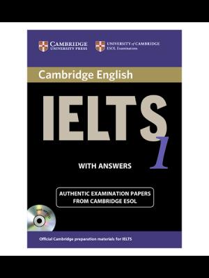 کتاب IELTS Cambridge 1+CD