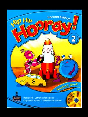 کتاب Hip Hip Hooray 2nd 2 SB+WB+CD