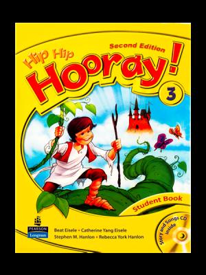 کتاب Hip Hip Hooray 2nd 3 SB+WB+CD