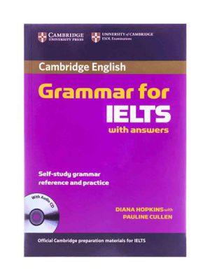کتاب Cambridge Grammar for IELTS