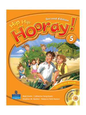 کتاب Hip Hip Hooray 2nd 5 SB+WB+CD