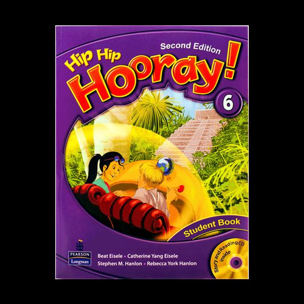 کتاب Hip Hip Hooray 2nd 6 SB+WB+CD