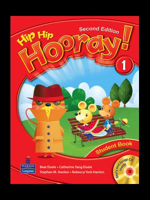 کتاب Hip Hip Hooray 2nd 1 SB+WB+CD