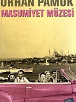 کتاب رمان ترکی استانبولی (موزه معصومیت) MASUMIYET MÜZESI